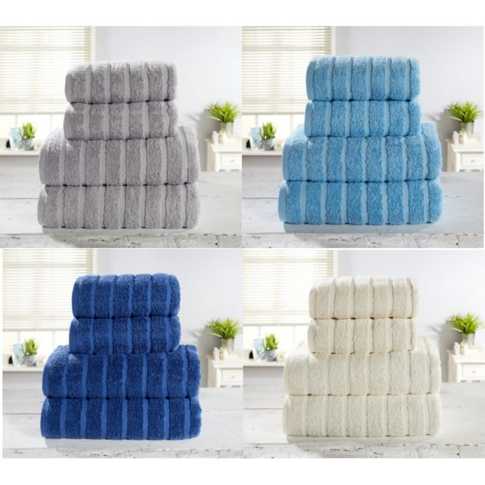 4 pack of over sized cotton bathroom towels