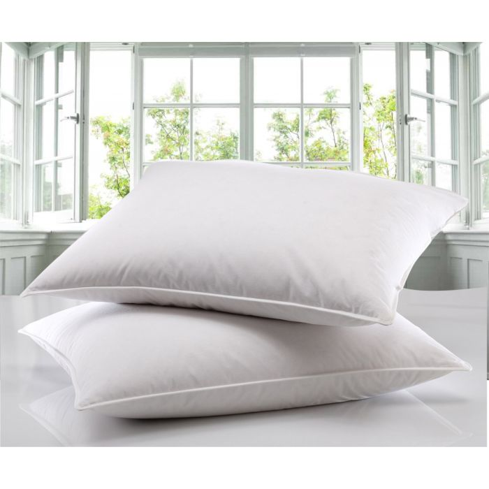 Shredded Supersoft Duck Feather & Down Pillow Pair