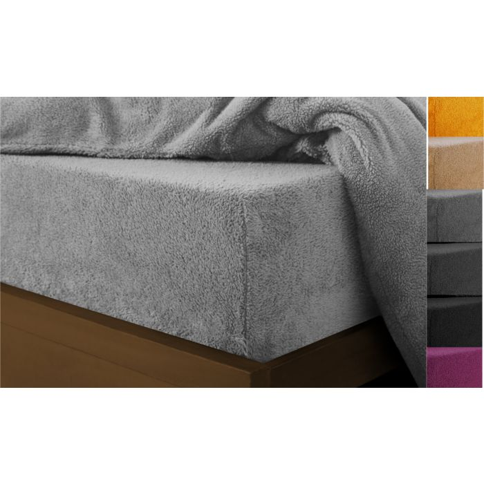 amazing extra soft  teddy fleece fitted sheets - 3 sizes