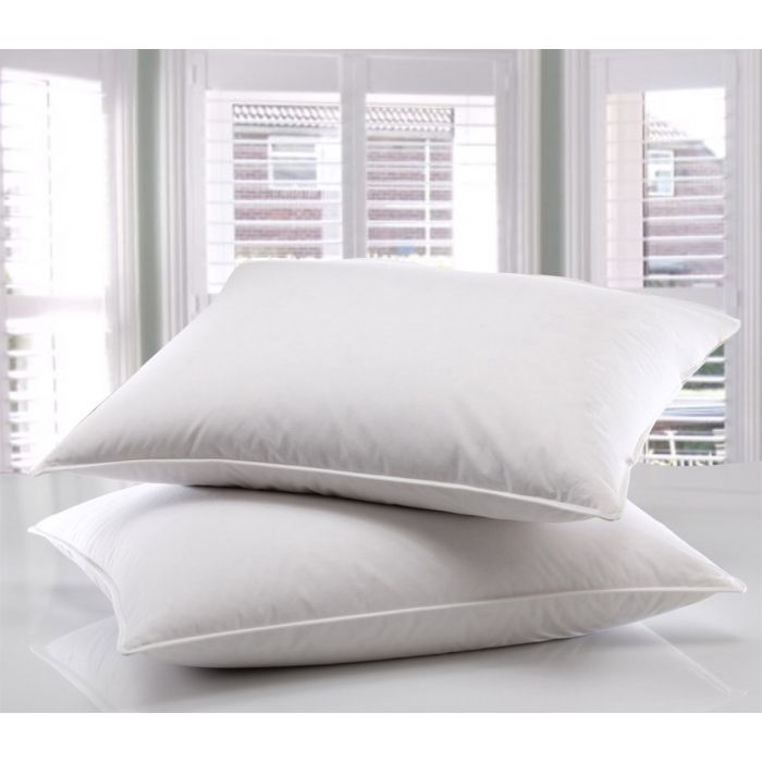 Shredded Supersoft Goose Feather & Down Pillow Pair