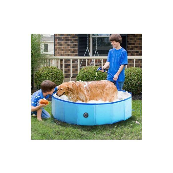 Pet folding bath pool