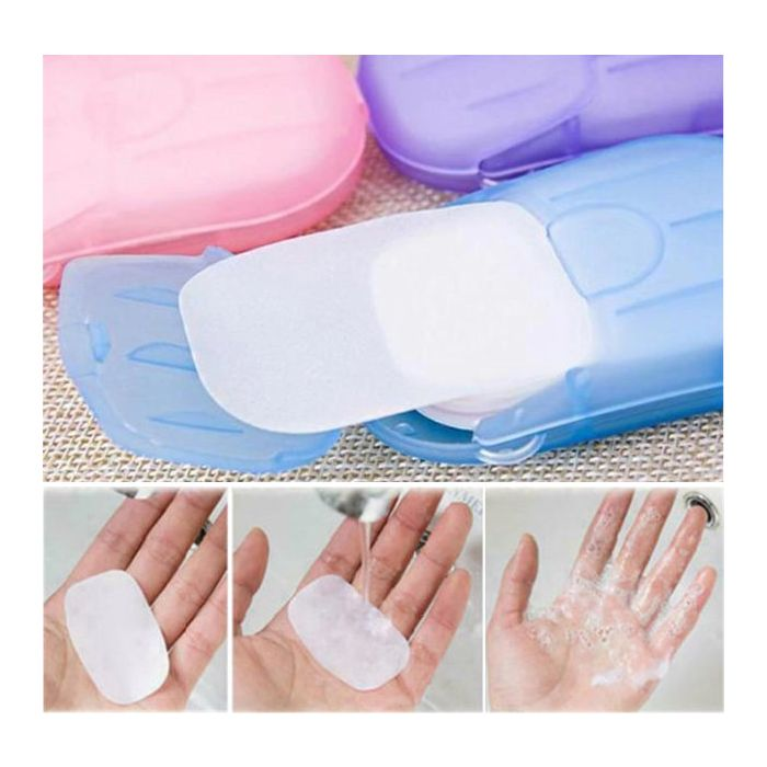 Hand wash pocket soap