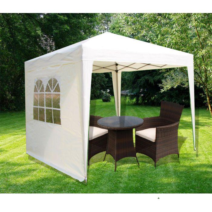 2 x 2 metre pop up gazebo tent - 2 colours