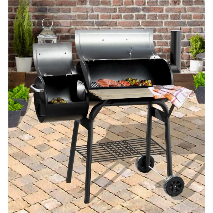 Alabama Alf's Smoker BBQ Grill