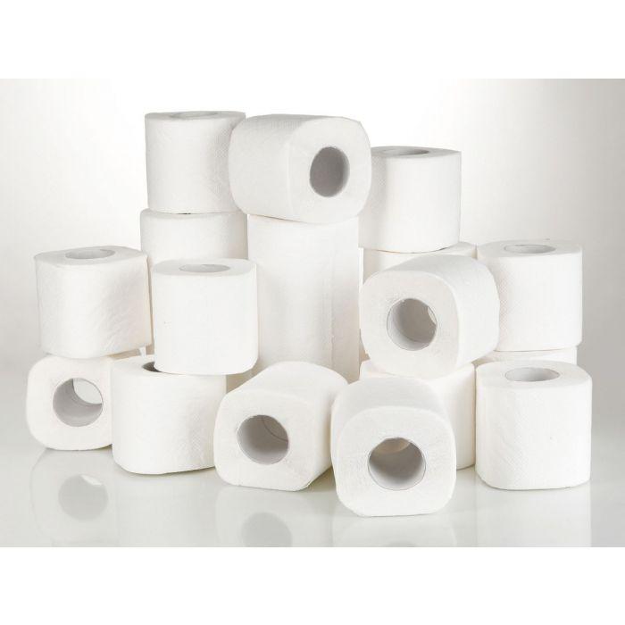 jumbo  pack of 36 soft white loo rolls