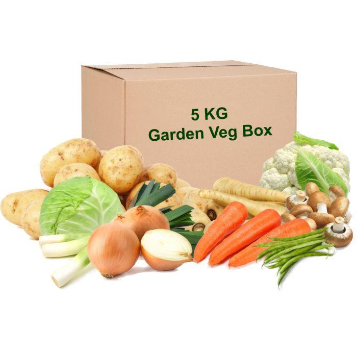 Garden Vegetable 5KG Box