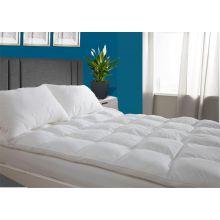 Deluxe 4 inch microfibre bounceback mattress topper FB