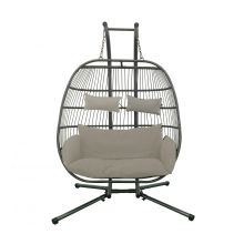 Luxury hanging egg chair FB
