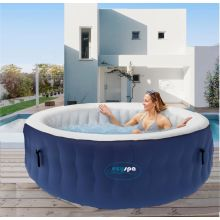 Deluxe Inflatable 6 to 8 person hot tub