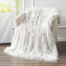 Supersoft Mongolian throw