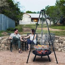 Tripod Garden Fire Pit